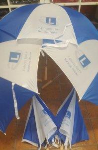 Regenschirme bedruckt