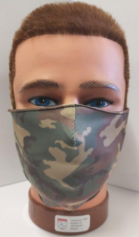 Mundschutz mit Druck Army
