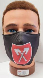 Mundschutz mit Druck Wappen Biel